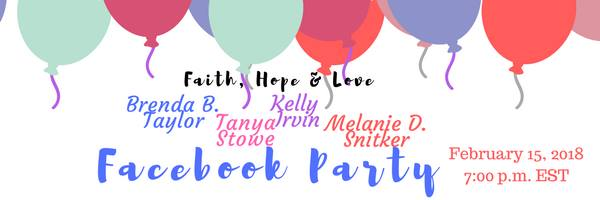 Faith, Hope & Love Facebook Party