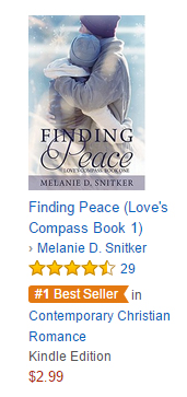 Finding Peace is a #1 Best Seller on Amazon!