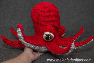 Crochet: An Octopus for Christmas by Melanie D. Snitker
