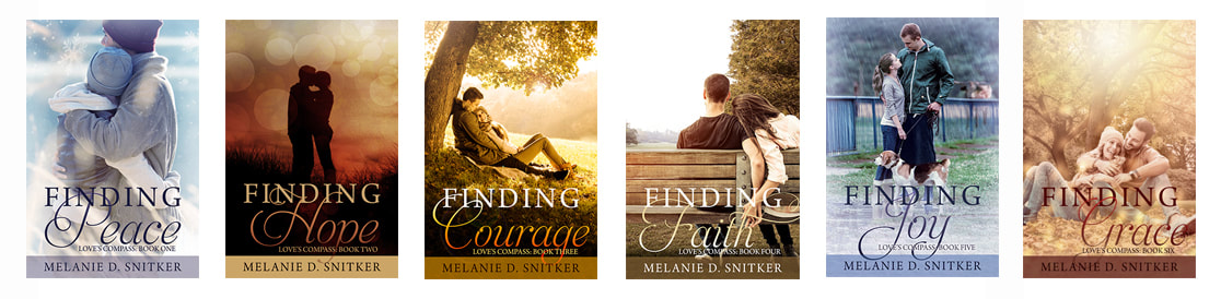 Love's Compass Series by Melanie D. Snitker