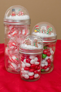 Craft: Snow Globe Jars by Melanie D. Snitker