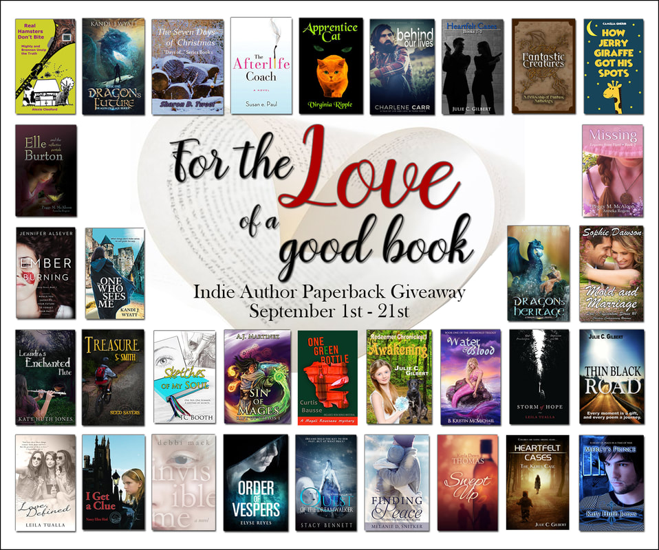 For the Love of a Good Book GIVEAWAY