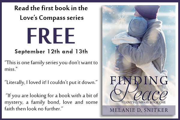 Finding Peace is FREE by Melanie D. Snitker