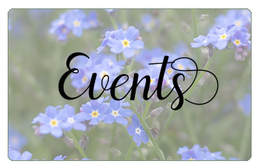 Upcoming Events - Melanie D. Snitker