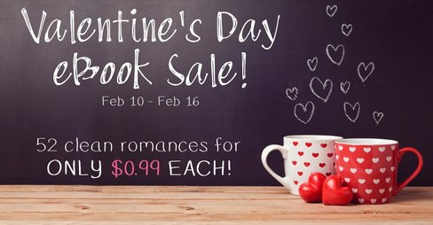 Valentine's Day eBook Sale!